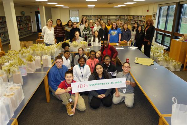 AIMS Jobs for Delaware Graduates' Students in Action Organization and Cab Calloway's Interact Club