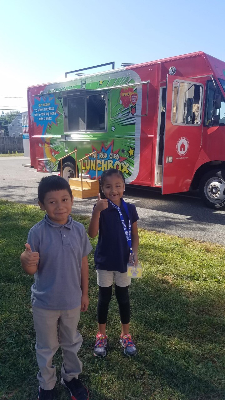 The Red Clay Food Truck Visited Baltz!