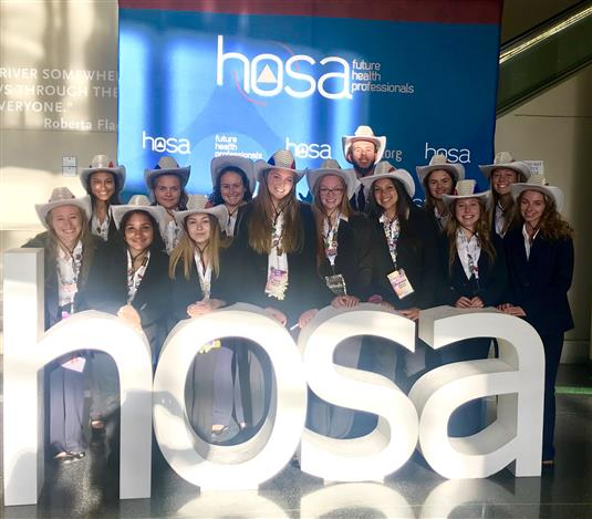 Conrad HOSA Attends International Conference and Earns Honors