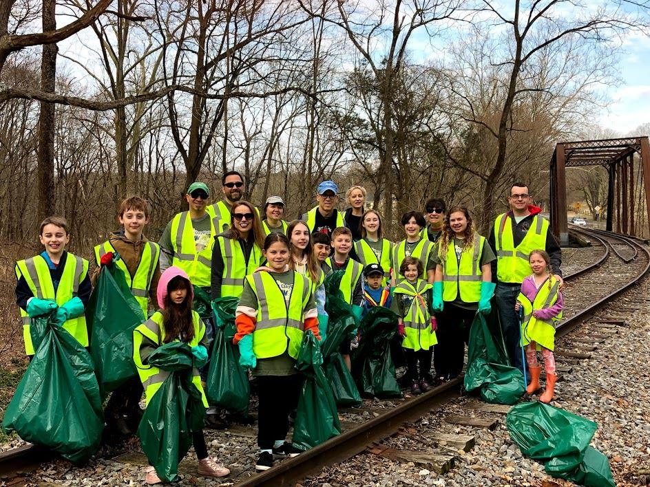 Cooke and Red Clay Cleanup at Ashland Nature Center