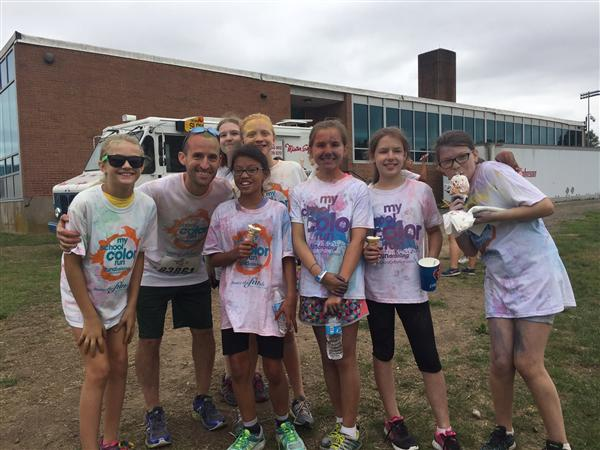 MYP Hosts First Color Run
