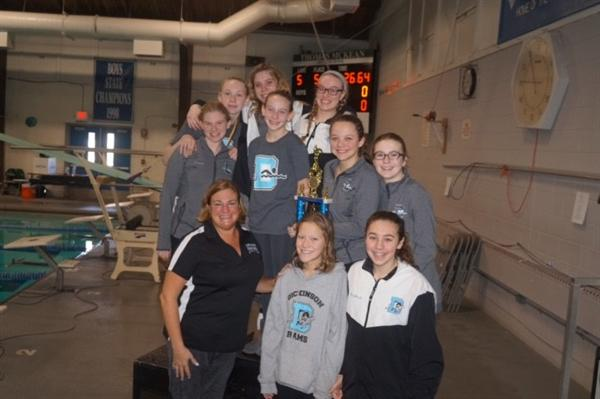 Girls' Swimming Wins Conference