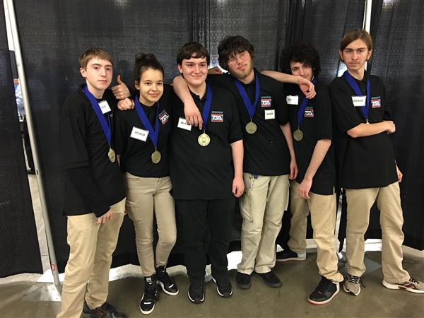 VEX Robotics Team Takes First