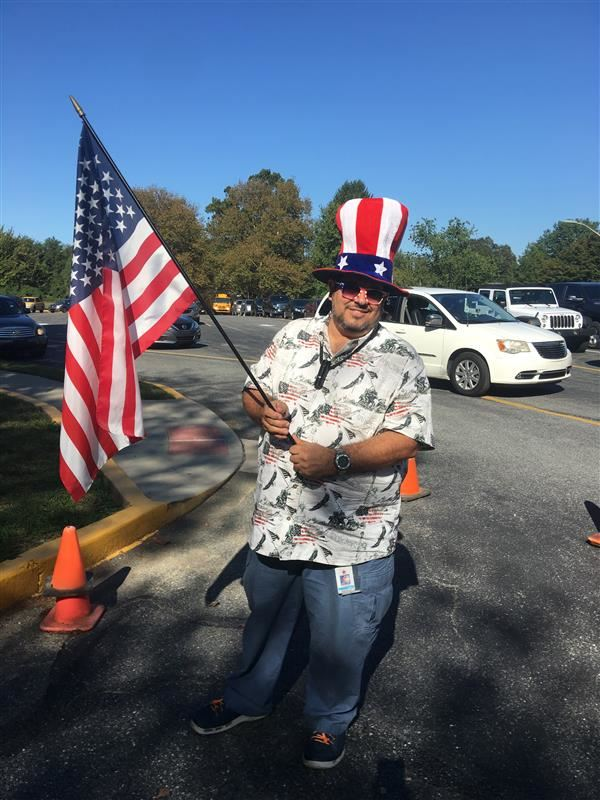 Mr. Guillen celebrates Constitution Day!
