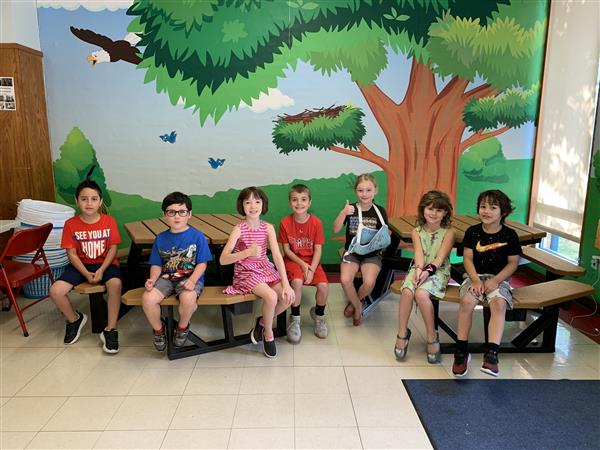 Eagles of the Week 9/16 Grades K-1