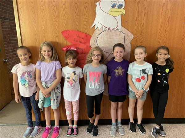 Eagles of the Week 9/16 Grades 2-3