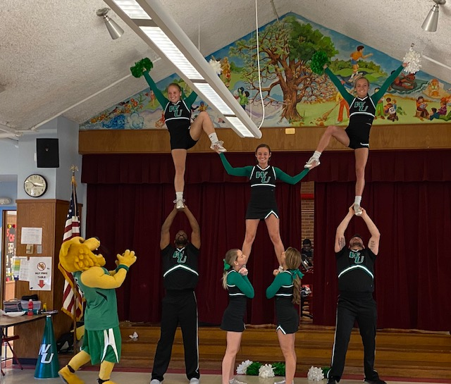 Wilmington College Cheerleaders