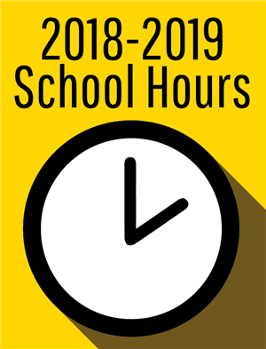 New Students hours for 2018-2019 School Year