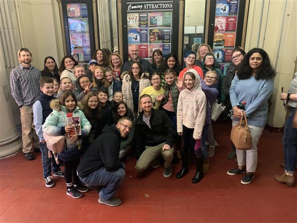 Linden Hill Travels to the Pitman Theatre