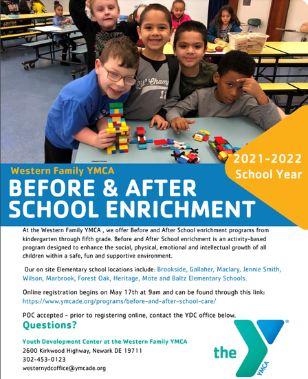 YMCA Before and After Care