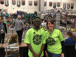 McKean Robotics Team takes 2nd place at World Competitions