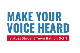 Virtual Town Hall October 1
