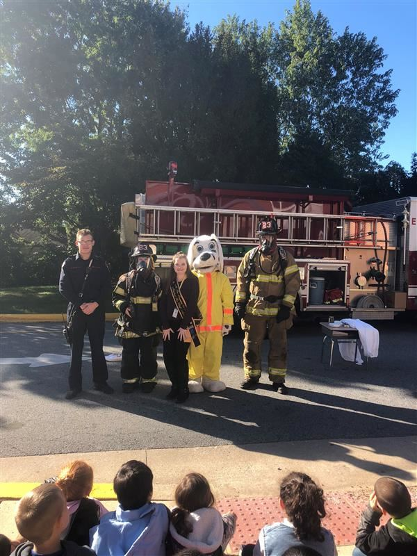 Fire Company Visits Richey