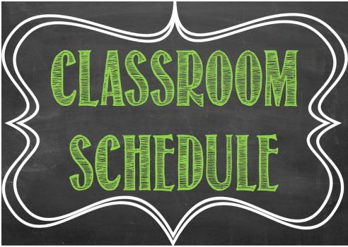 Fall Remote Learning Academic Schedule