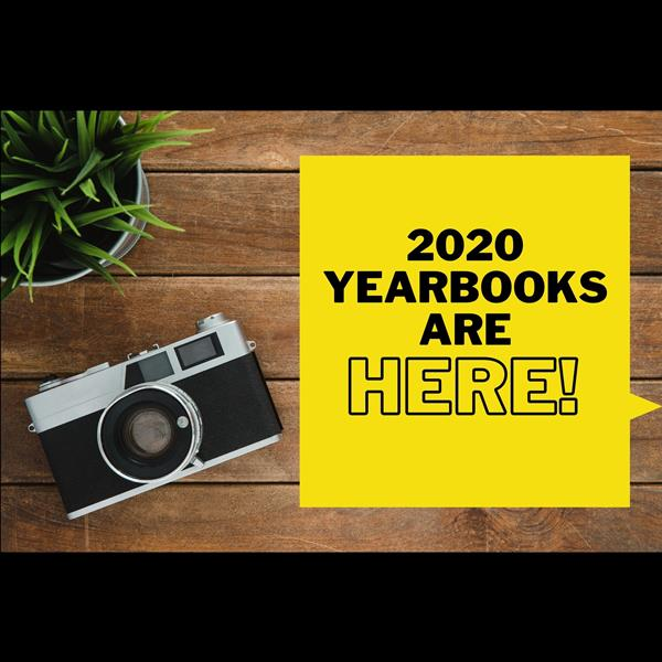 2020 Yearbooks are in!