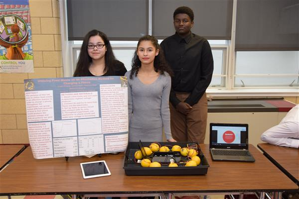 Students Present Research at Conrad BioTech Fair