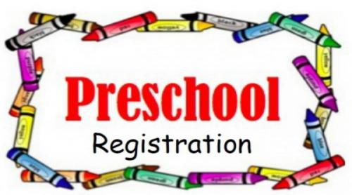Preschool registration forms are available to download.