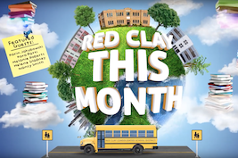 Red Clay This Month graphic