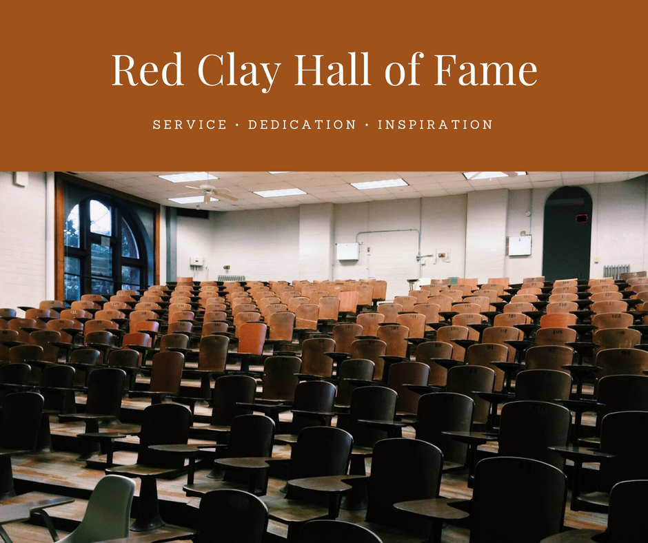 Red Clay Hall of Fame Nominations.
